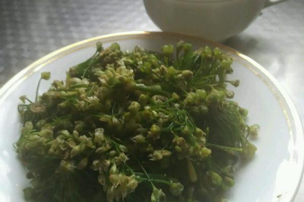 韭菜花腌制方法_如何腌制韭菜花