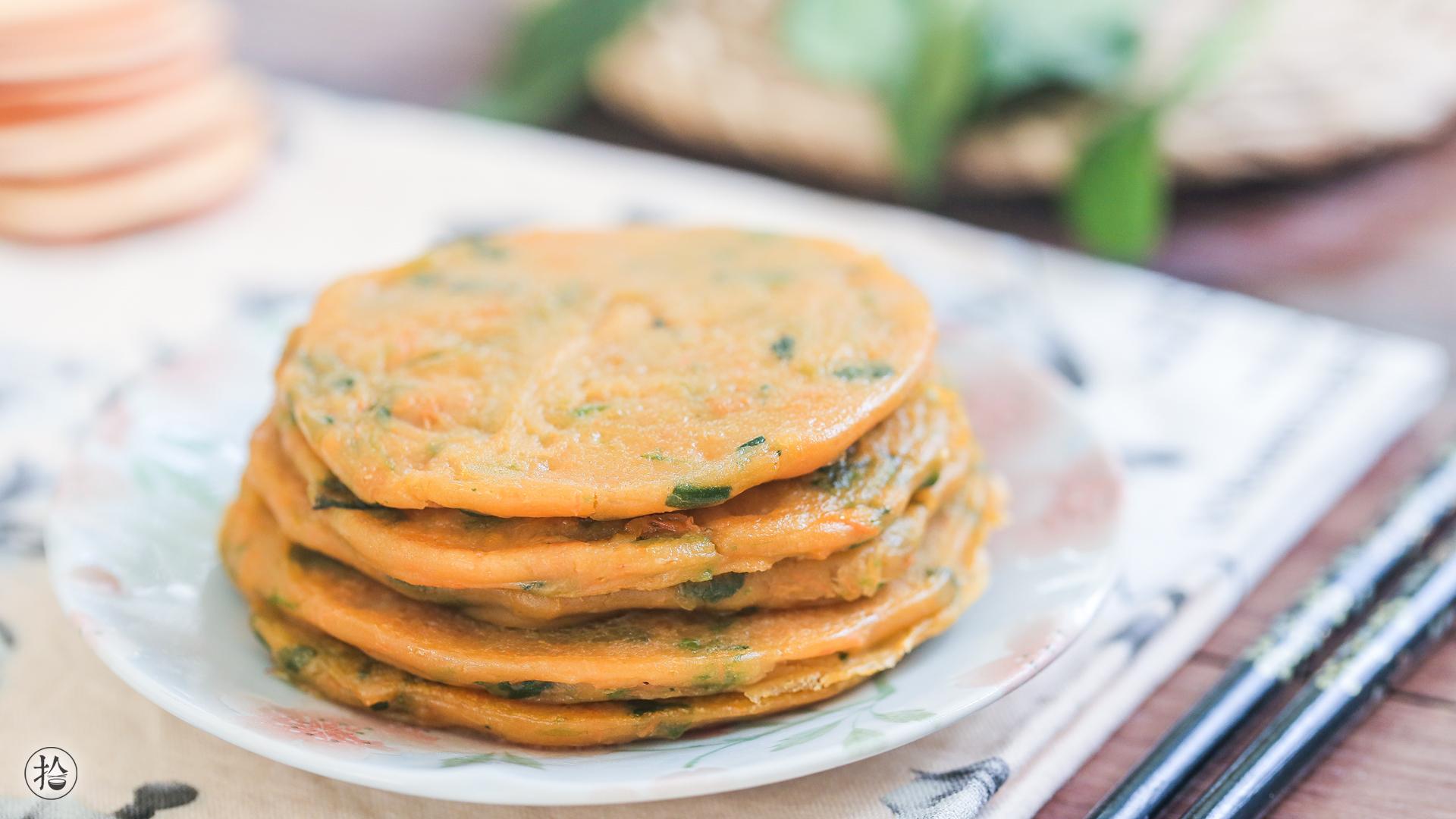 地瓜蔬菜小饼的做法_【图解】地瓜蔬菜小饼怎么做如何