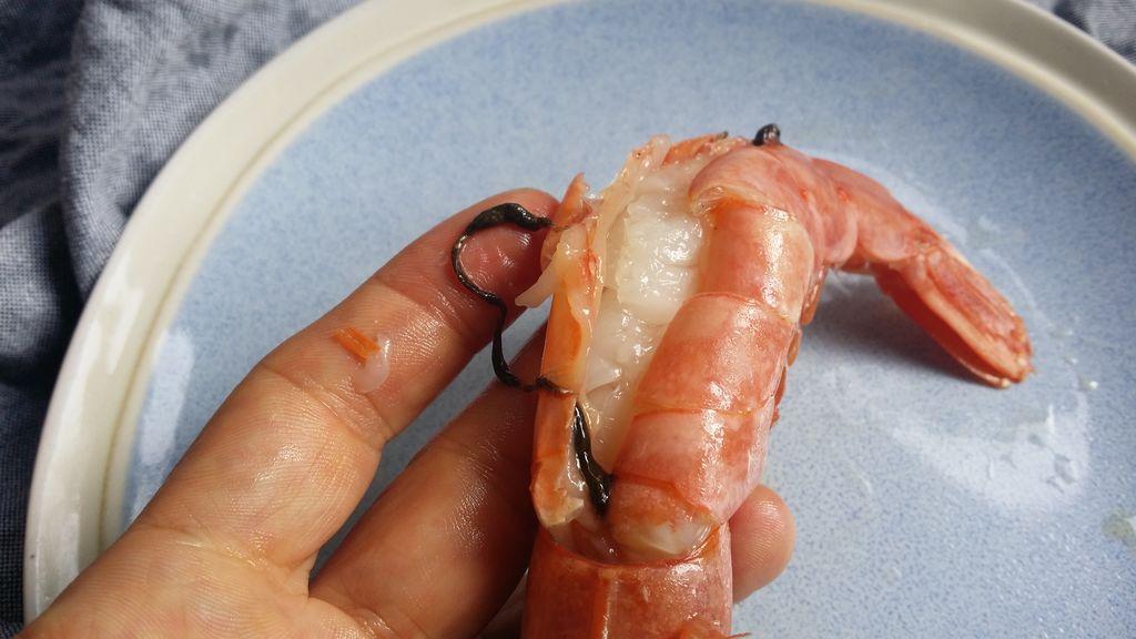 虾头怎么剪处理图解