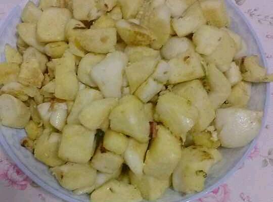 炒馍馍的做法_【图解】炒馍馍怎么做好吃_吖℃_家常
