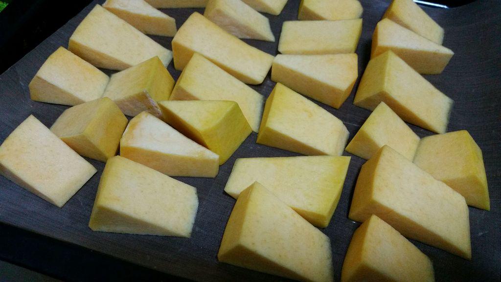 糖烤南瓜的做法图解1