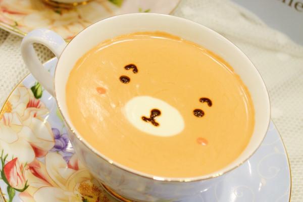 自制呆萌热带水果风奶盖茶#每道菜都是一台食光机#的做法