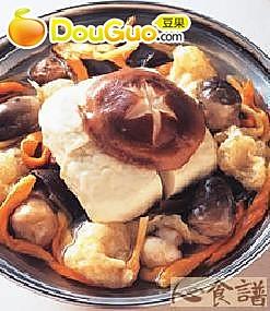 素菜锅的做法