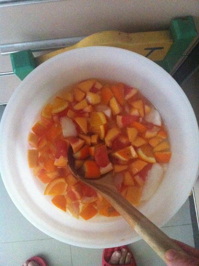 西柚橙子水果酵素的做法_【圖解】西柚橙子水果酵素 ...