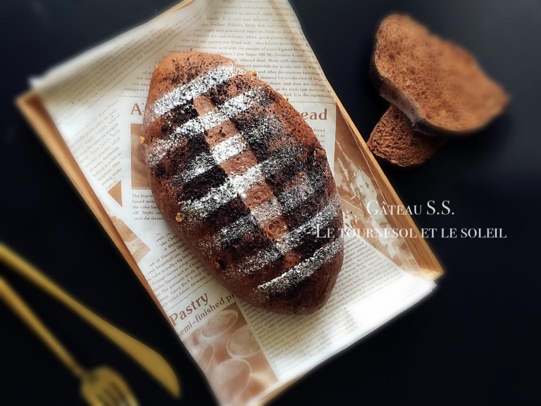 榛子巧克力软欧包的做法图解6