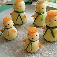 圣诞雪人#安佳烘焙学院#