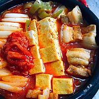 韩式五花肉辣白菜豆腐汤 思密达style 看韩剧必备宵夜的做法图解10