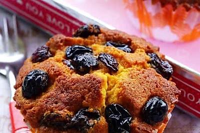 焦糖葡萄干蛋糕
