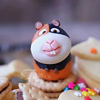 翻糖玩偶荷兰猪-这个简单