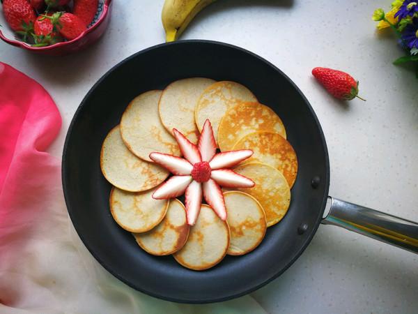 香蕉大米松饼