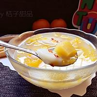 红薯年糕水果汤#柏翠辅食节-营养佐餐#