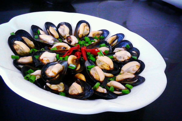 淡菜的新吃法灬葱油淡菜