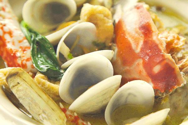 小羽私厨之海鲜一品锅的做法