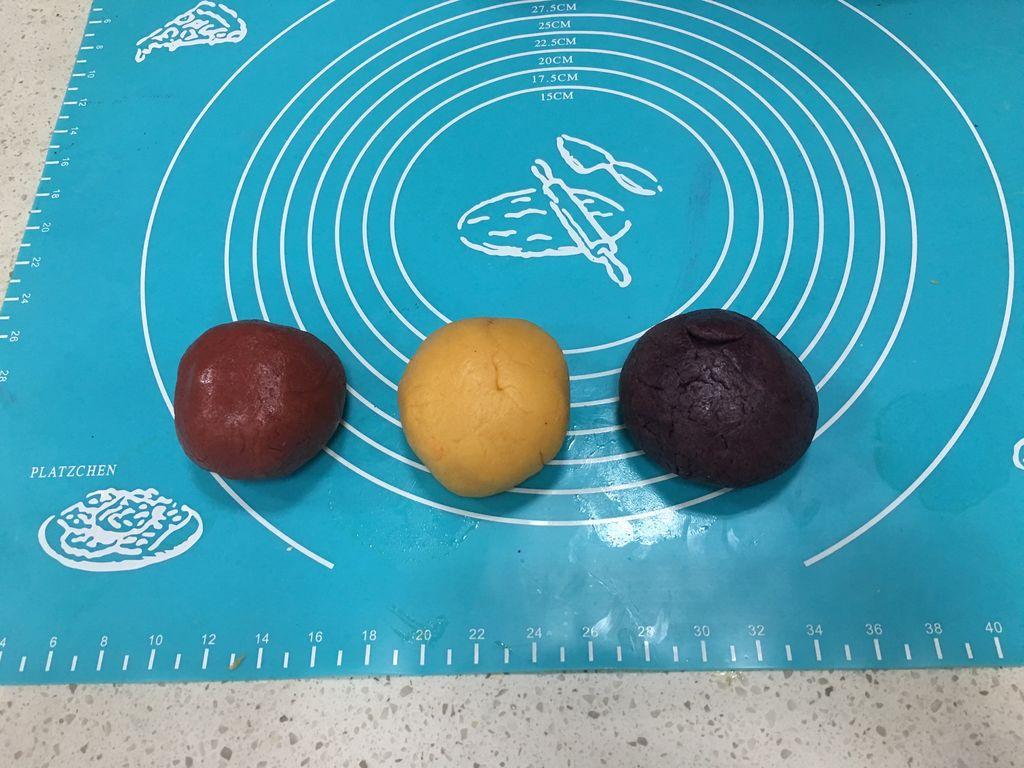 彩虹棒棒糖饼干的做法步骤