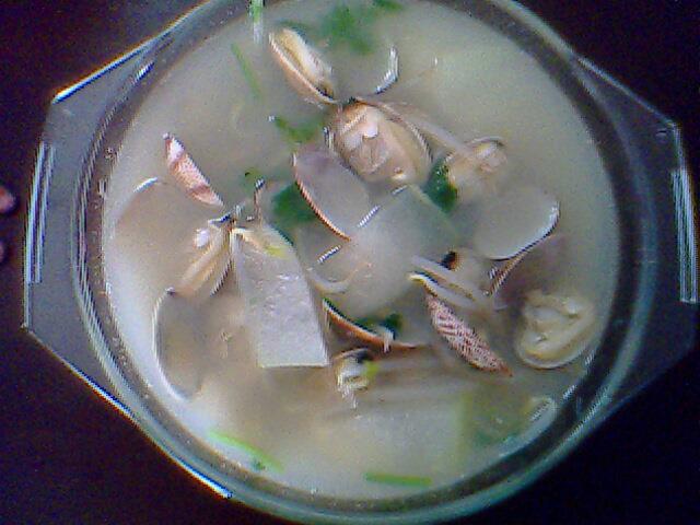 花甲冬瓜汤的做法_【图解】花甲冬瓜汤怎么做好吃_库