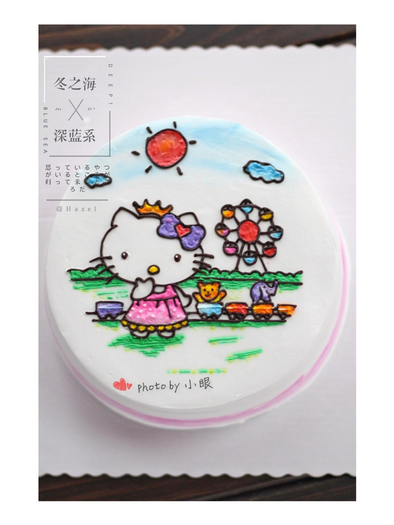 手绘蛋糕的做法_【图解】手绘蛋糕怎么做如何做好吃