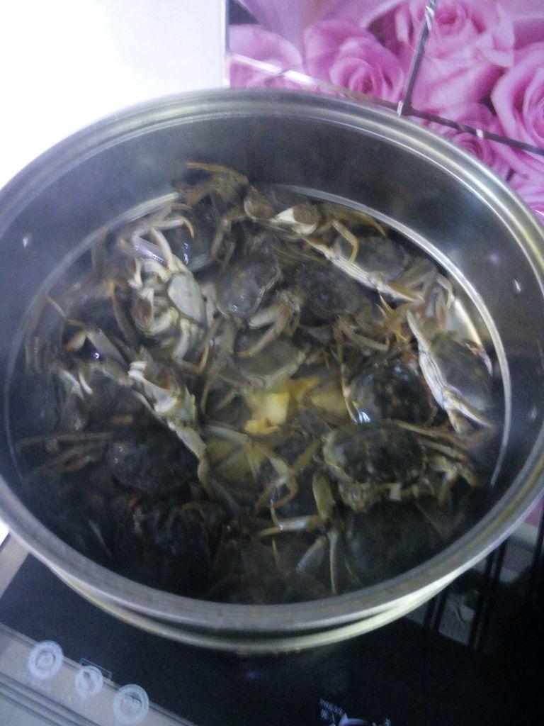 蒸螃蟹的做法 !-- 图解2