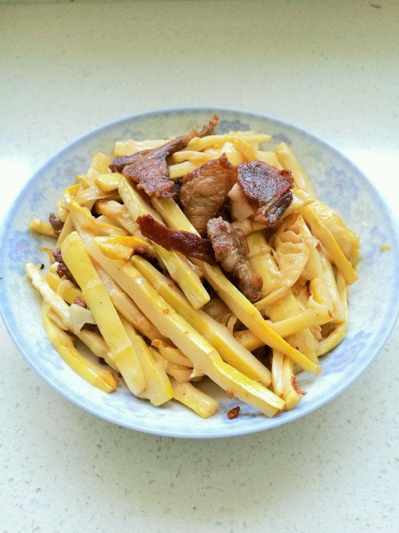 酸笋炒肉的做法_【图解】酸笋炒肉怎么做如何做好吃