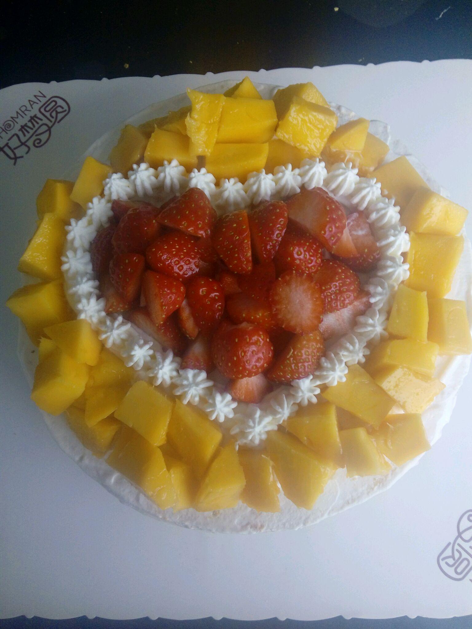 水果蛋糕的做法图解16