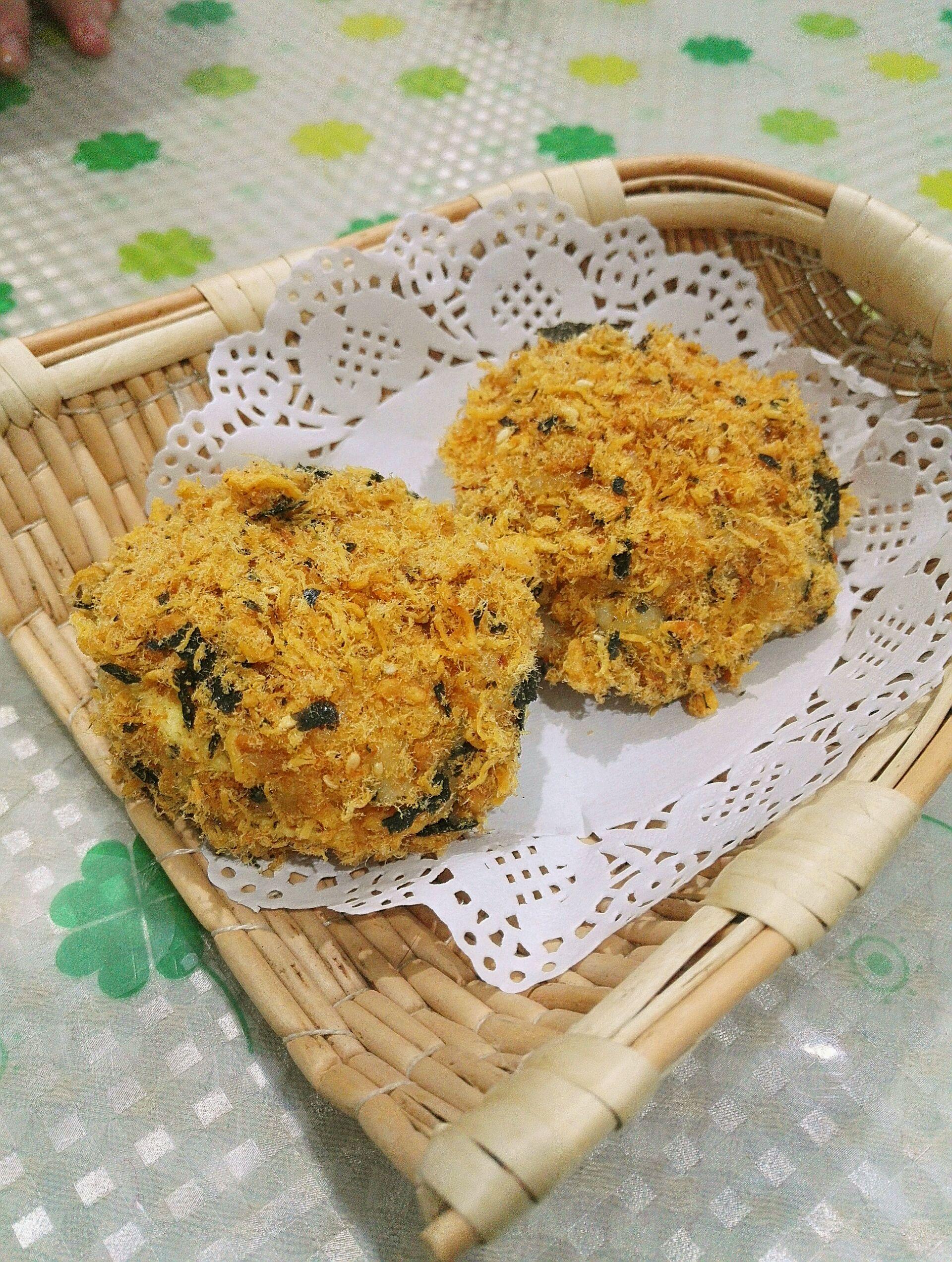 海苔鸡胸小贝半斤肉松肉蛋白质图片
