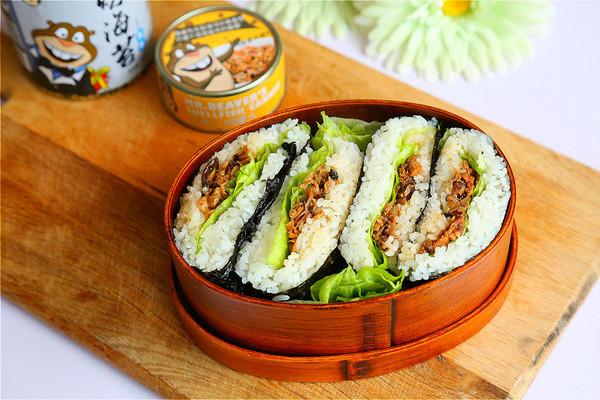 米饭三明治#福临门创意米厨图片