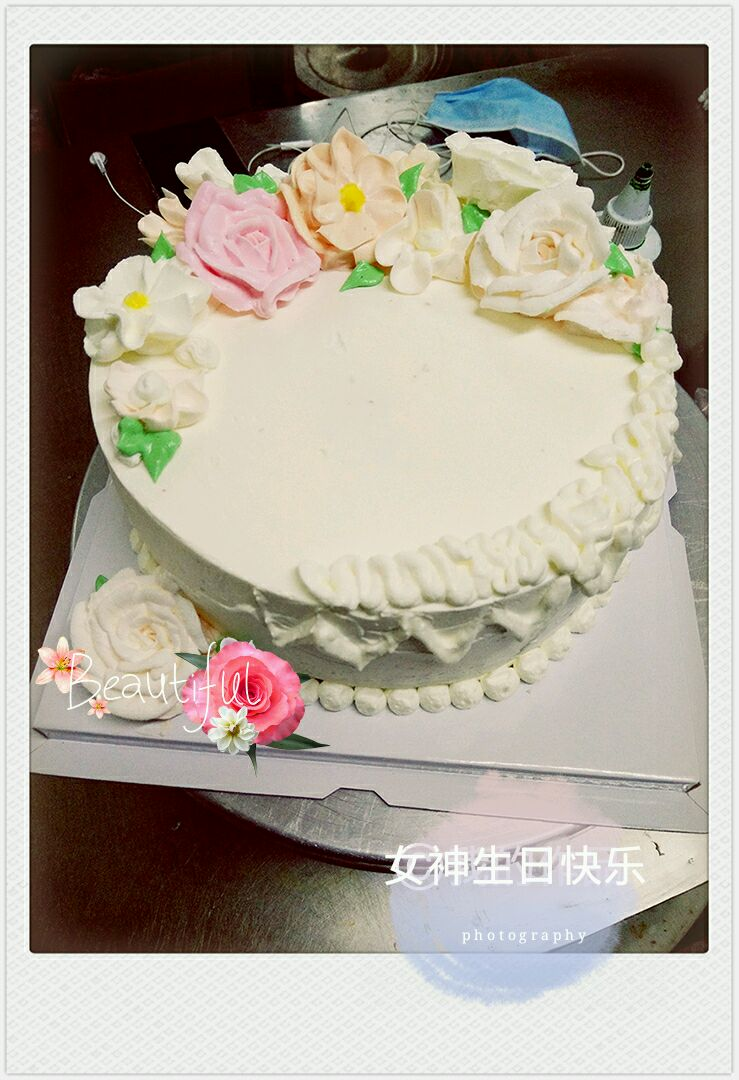 时间:30–60分钟       主料 蛋糕胚 奶油 水果 裱花蛋糕的做法步骤