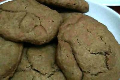 减糖版黄油巧克力饼干