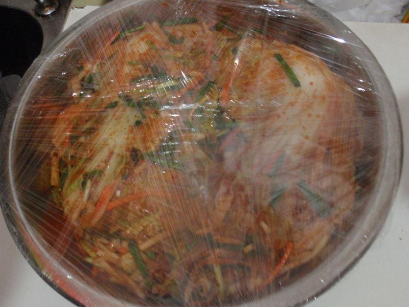 韩国泡菜的做法图解11