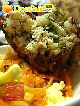 煎豆腐肉末小饼的做法