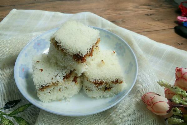 桂花红糖米糕的做法