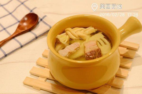 教你炖出一碗最鲜的清汤-腌笃鲜(附自制咸肉做法)的做法