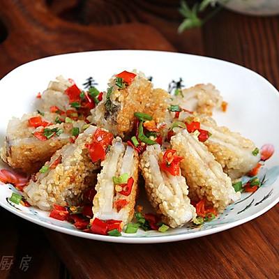 糯香藕夹#金龙鱼外婆乡小榨菜籽油最强家乡菜#