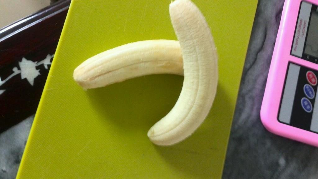 卡通香蕉蛋糕的做法步骤
