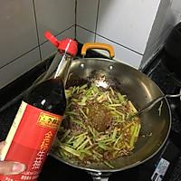 快炒芹菜牛肉丝的做法图解5