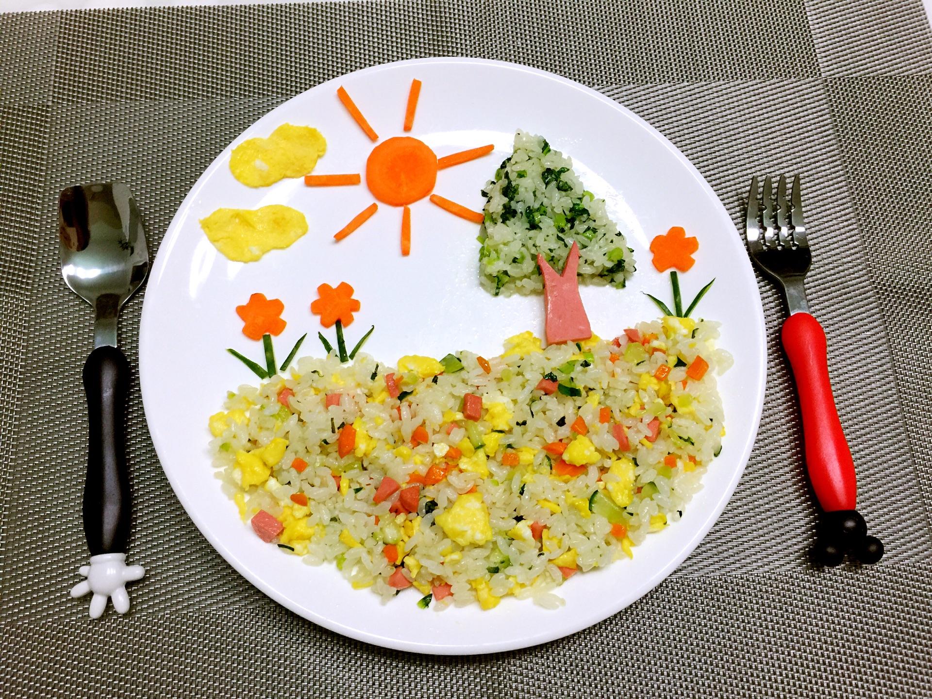 儿童创意早餐的做法图解8