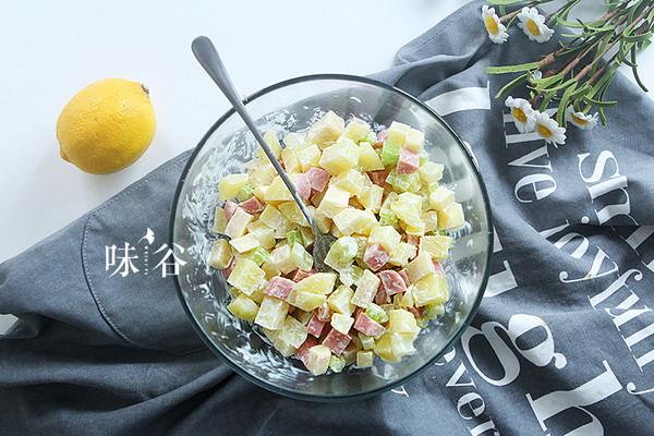土豆什锦沙拉的做法