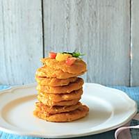 南瓜豆渣饼-将豆渣打形成色调与滋味的两重盛宴