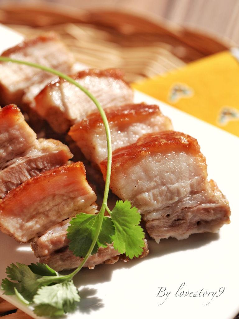 脆皮烤五花肉