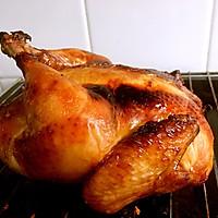 秘制酱料烤鸡