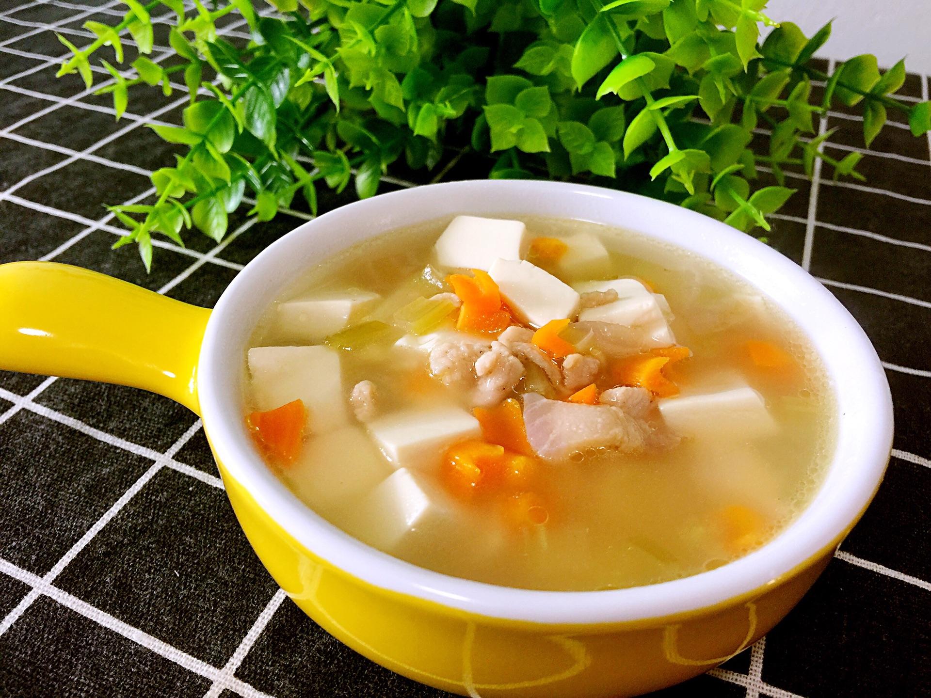 胡萝卜豆腐汤的做法图解9
