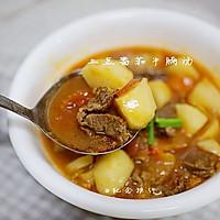 厨渣必学的一锅三吃--土豆番茄牛腩汤