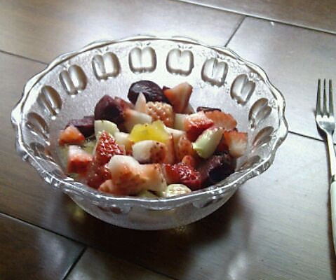 杂果配果冻的做法
