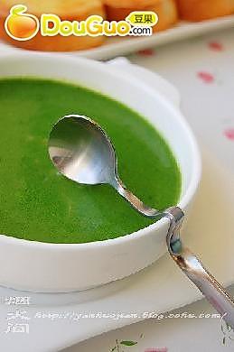 菠菜奶油浓汤的做法