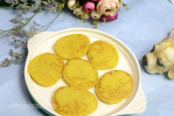 南瓜莲子薏米牛奶饼的做法