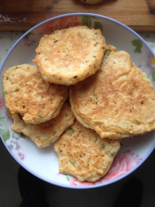 豆渣饼的做法_【图解】豆渣饼怎么做好吃_紫裳⊙⊙昙