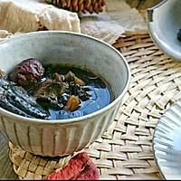 熟地黑豆乌鸡汤