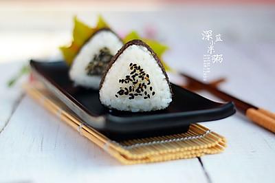 踏青食品——三角饭团#德国Miji爱心菜#