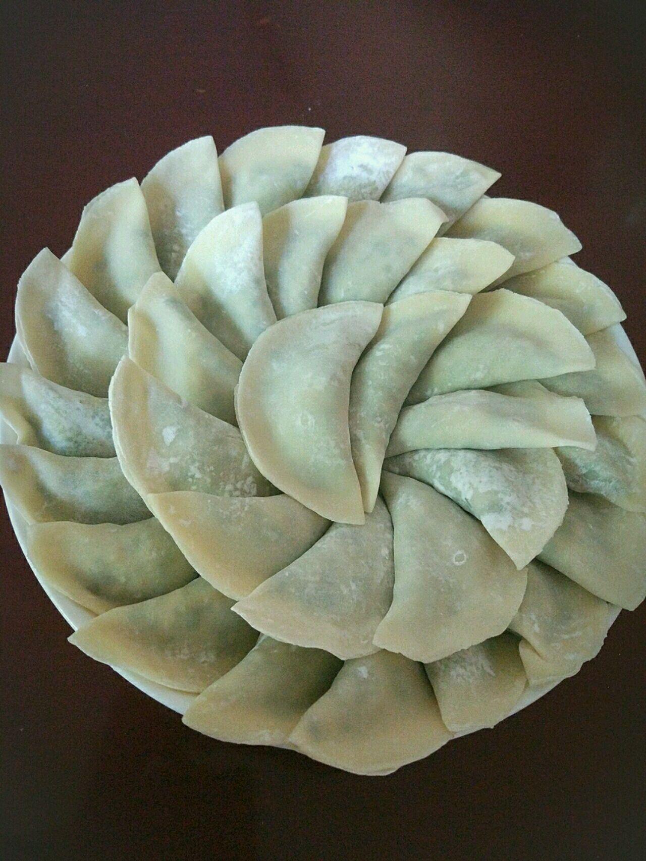 韭菜饺子的做法图解2