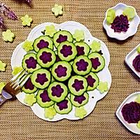紫薯黄瓜圈