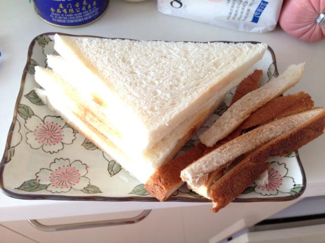 早餐三明治的做法步骤